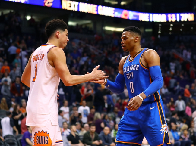 Oklahoma City Thunder vs. Phoenix Suns - 3/8/18 NBA Pick, Odds, and Prediction