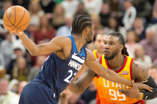 Minnesota Timberwolves vs. Utah Jazz - 4/1/18 NBA Pick, Odds, and Prediction