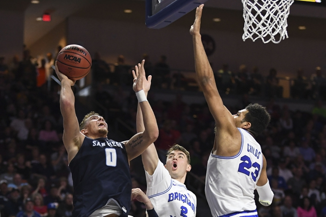 BYU vs. San Diego - 1/16/20 College Basketball Pick, Odds, and Prediction