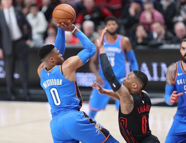 Oklahoma City Thunder vs. Portland Trail Blazers - 3/25/18 NBA Pick, Odds, and Prediction
