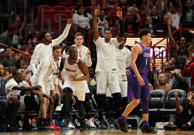 Phoenix Suns vs. Miami Heat - 12/7/18 NBA Pick, Odds, and Prediction