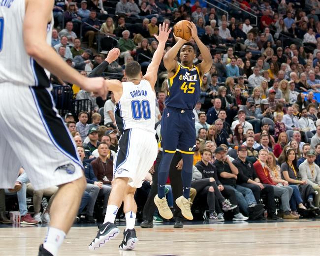 Orlando Magic vs. Utah Jazz - 12/15/18 NBA Pick, Odds, and Prediction