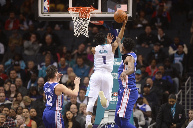 Philadelphia 76ers vs. Charlotte Hornets - 3/19/18 NBA Pick, Odds, and Prediction