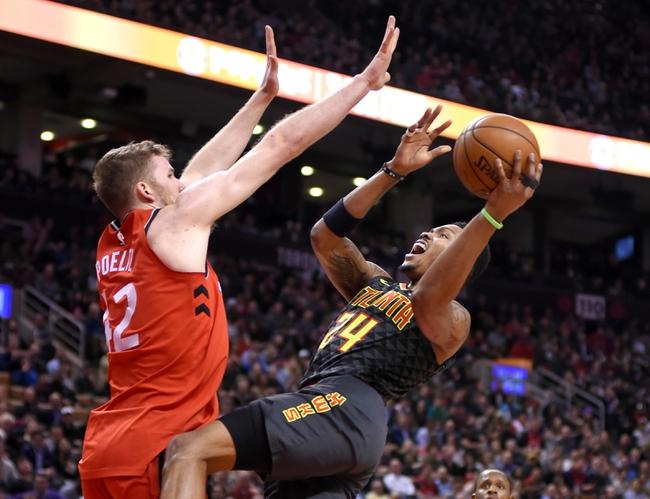 Atlanta Hawks vs. Toronto Raptors - 11/21/18 NBA Pick, Odds, and Prediction