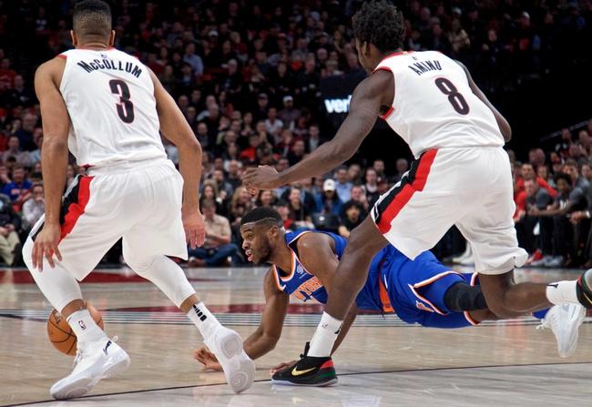 New York Knicks vs. Portland Trail Blazers - 11/20/18 NBA Pick, Odds, and Prediction