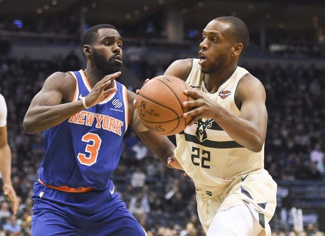 New York Knicks vs. Milwaukee Bucks - 4/7/18 NBA Pick, Odds, and Prediction