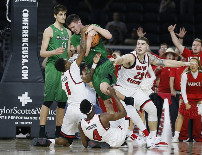 Western Kentucky vs. Marshall - 1/25/20 College Basketball Pick, Odds, and Prediction