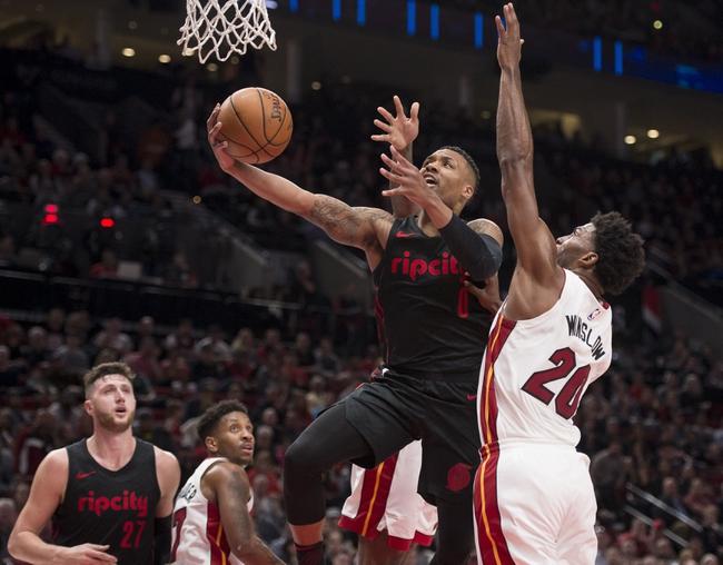 Miami Heat vs. Portland Trail Blazers - 10/27/18 NBA Pick, Odds, and Prediction