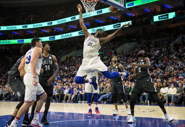 Philadelphia 76ers vs. Brooklyn Nets - 4/3/18 NBA Pick, Odds, and Prediction