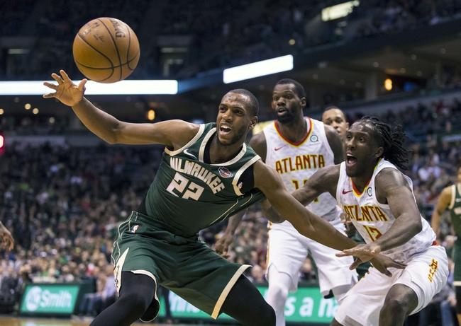 Milwaukee Bucks vs. Atlanta Hawks - 1/4/19 NBA Pick, Odds, and Prediction