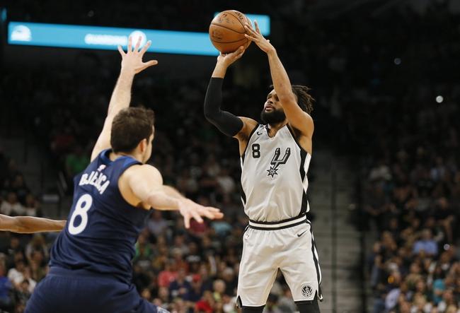 San Antonio Spurs vs. Miami Heat - 9/30/18 NBA Pick, Odds, and Prediction