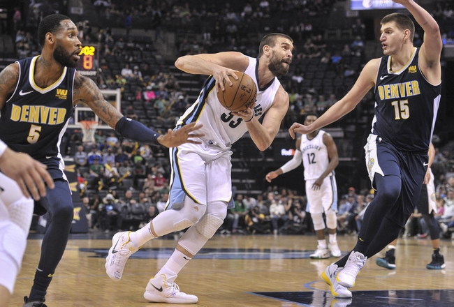 Memphis Grizzlies vs. Denver Nuggets - 11/7/18 NBA Pick, Odds, and Prediction