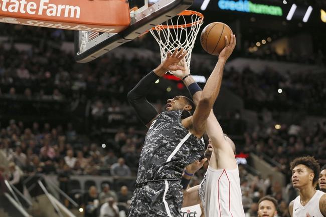 Washington Wizards vs. San Antonio Spurs - 3/27/18 NBA Pick, Odds, and Prediction