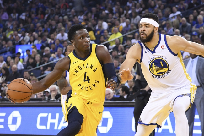 Indiana Pacers vs. Golden State Warriors - 4/5/18 NBA Pick, Odds, and Prediction