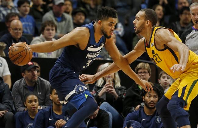 Minnesota Timberwolves vs. Utah Jazz - 10/31/18 NBA Pick, Odds, and Prediction