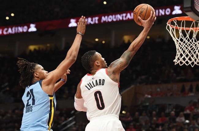 Memphis Grizzlies vs. Portland Trail Blazers - 12/12/18 NBA Pick, Odds, and Prediction