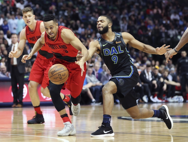 Dallas Mavericks vs. Portland Trail Blazers - 12/4/18 NBA Pick, Odds, and Prediction
