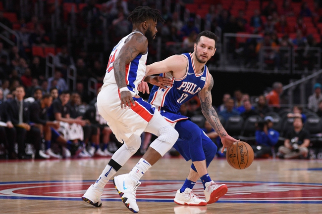 Detroit Pistons vs. Philadelphia 76ers - 10/23/18 NBA Pick, Odds, and Prediction