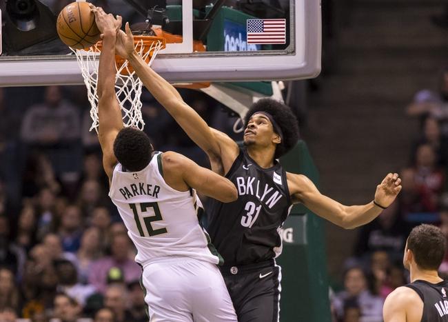 Milwaukee Bucks vs. Brooklyn Nets - 12/29/18 NBA Pick, Odds, and Prediction