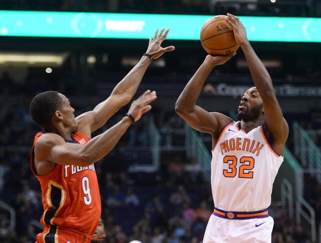 New Orleans Pelicans vs. Phoenix Suns - 11/10/18 NBA Pick, Odds, and Prediction