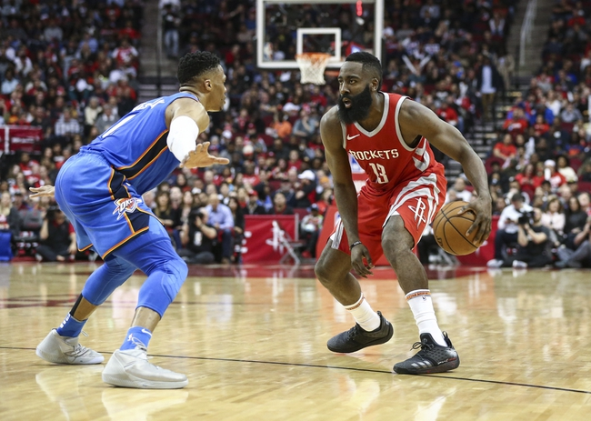 Houston Rockets vs. Oklahoma City Thunder - 12/25/18 NBA Pick, Odds, and Prediction