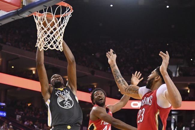 Golden State Warriors vs. New Orleans Pelicans - 4/28/18 NBA Pick, Odds, and Prediction