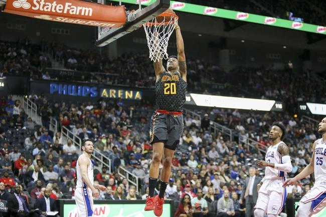 Philadelphia 76ers vs. Atlanta Hawks - 10/29/18 NBA Pick, Odds, and Prediction
