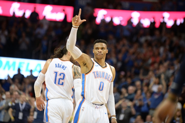 Oklahoma City Thunder vs. Utah Jazz - 4/15/18 NBA Pick, Odds, and Prediction