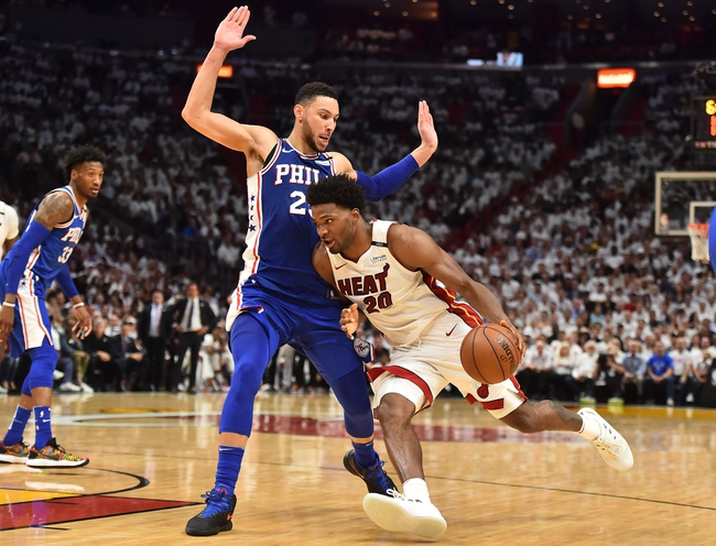 Miami Heat vs. Philadelphia 76ers - 4/21/18 NBA Pick, Odds, and Prediction