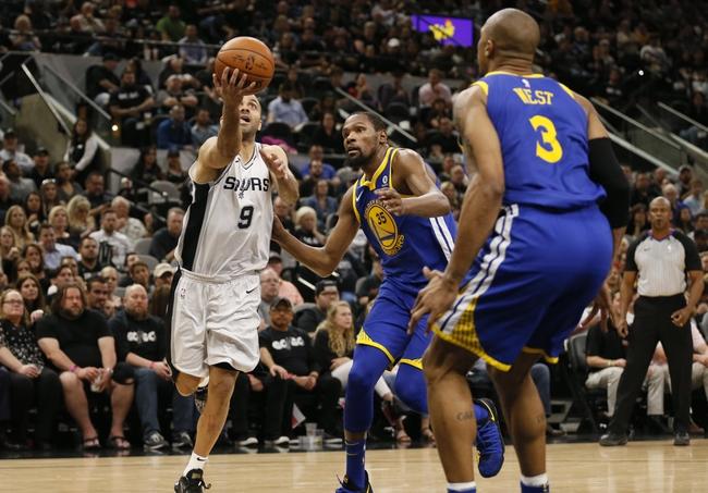 San Antonio Spurs vs. Golden State Warriors - 4/22/18 NBA Pick, Odds, and Prediction
