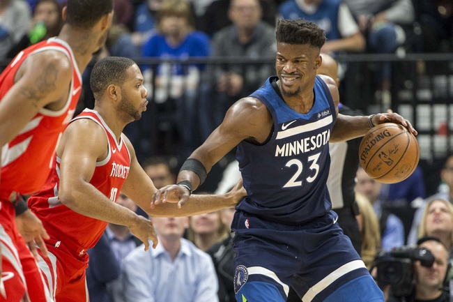 Minnesota Timberwolves vs. Houston Rockets - 4/23/18 NBA Pick, Odds, and Prediction
