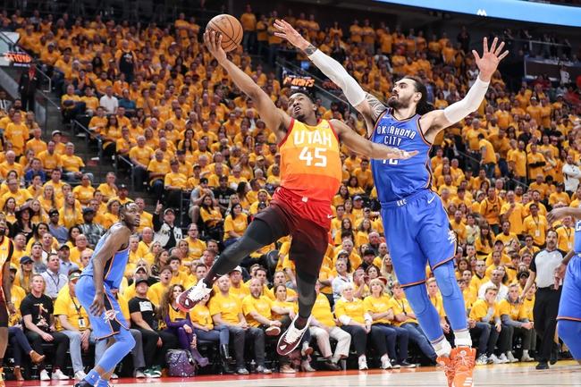 Utah Jazz vs. Oklahoma City Thunder - 4/23/18 NBA Pick, Odds, and Prediction