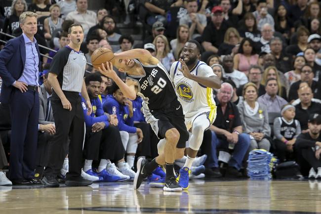 Golden State Warriors vs. San Antonio Spurs - 4/24/18 NBA Pick, Odds, and Prediction