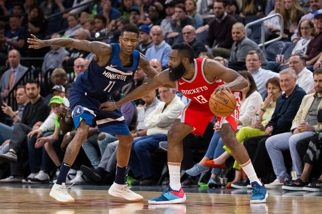 Houston Rockets vs. Minnesota Timberwolves - 4/25/18 NBA Pick, Odds, and Prediction