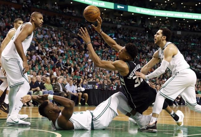 Milwaukee Bucks vs. Boston Celtics - 4/26/18 NBA Pick, Odds, and Prediction