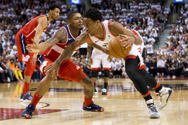 Washington Wizards vs. Toronto Raptors - 4/27/18 NBA Pick, Odds, and Prediction