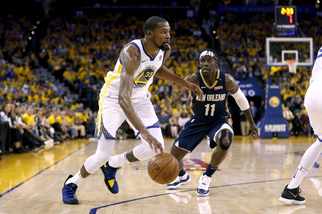 Golden State Warriors vs. New Orleans Pelicans - 5/1/18 NBA Pick, Odds, and Prediction