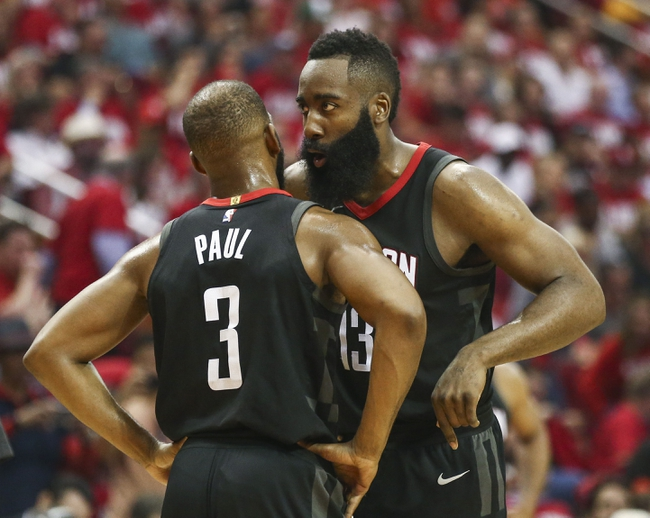 Houston Rockets vs. New Orleans Pelicans - 10/17/18 NBA Pick, Odds, and Prediction