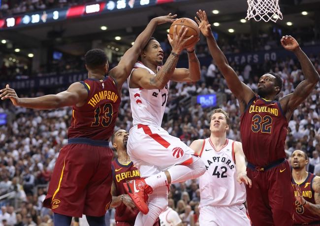 Cleveland Cavaliers vs. Toronto Raptors - 5/5/18 NBA Pick, Odds, and Prediction