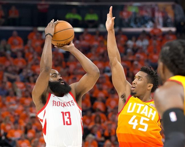 Houston Rockets at Utah Jazz - 5/6/18 Game 4 NBA Pick, Odds, and Prediction