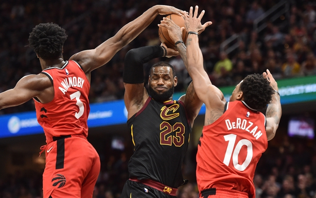 Cleveland Cavaliers vs. Toronto Raptors - 5/7/18 NBA Pick, Odds, and Prediction