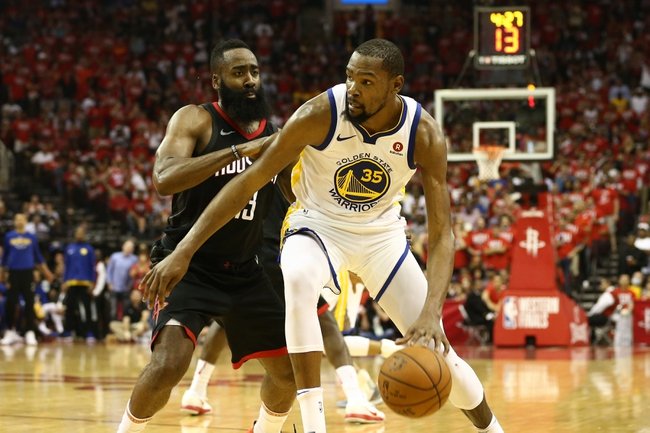 Golden State Warriors at Houston Rockets Game 2 - 5/16/18 NBA Pick, Odds, and Prediction