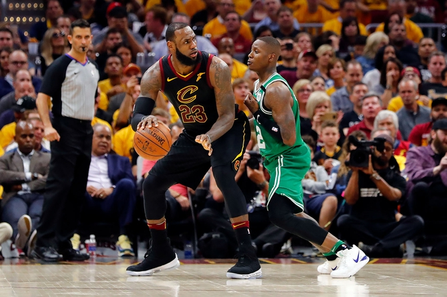 Boston Celtics at Cleveland Cavaliers - Game 4 - 5/21/18 NBA Pick, Odds, and Prediction