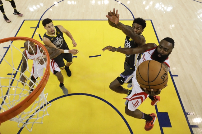 Golden State Warriors at Houston Rockets - Game 5 - 5/24/18 NBA Pick, Odds, and Prediction