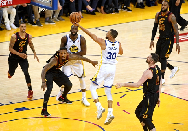 Golden State Warriors vs. Cleveland Cavaliers - 6/3/18 NBA Pick, Odds, and Prediction