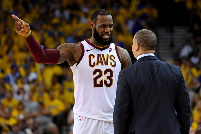 Cleveland Cavaliers vs. Golden State Warriors - 6/6/18 NBA Pick, Odds, and Prediction