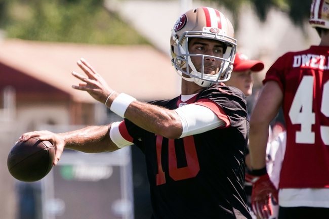 Dallas Cowboys at San Francisco 49ers - 8/9/18 NFL Pick, Odds, and Prediction