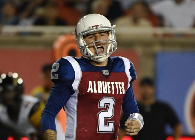 Montreal Alouettes vs. Toronto Argonauts CFL Pick, Odds, Prediction - 10/28/18