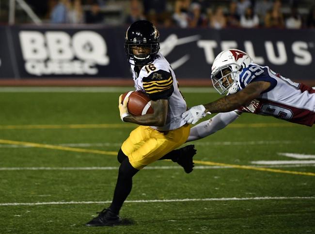 Hamilton Tiger-Cats vs. Edmonton Eskimos CFL Pick, Odds, Prediction - 8/23/18