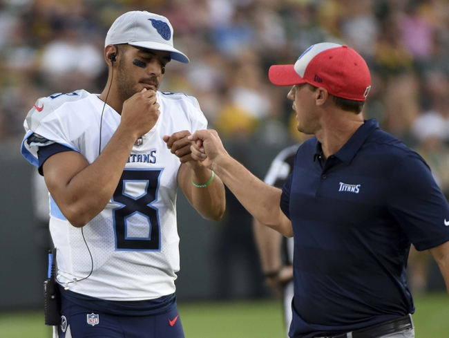 Tampa Bay Buccaneers at Tennessee Titans - 8/18/18 NFL Pick, Odds, and Prediction